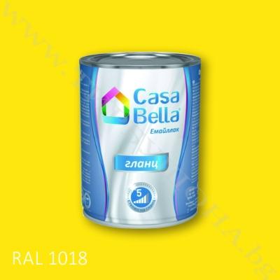 Каса Бела емайллак RAL1018 650мл.