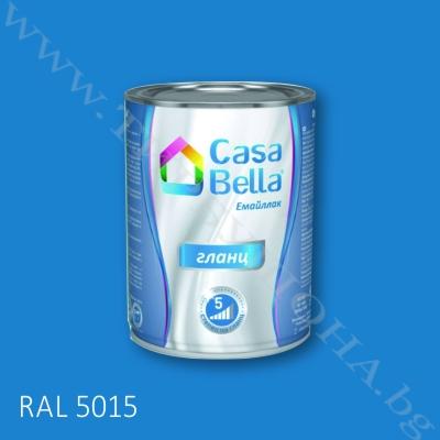 Каса Бела емайллак RAL5015 650мл.