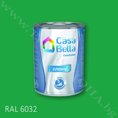 Каса Бела емайллак RAL6032 650мл.