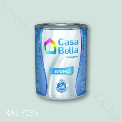 Каса Бела емайллак RAL7035 650мл.