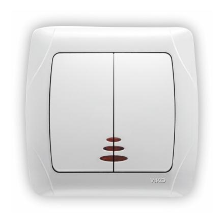 Ключ сериен сх.5 светещ