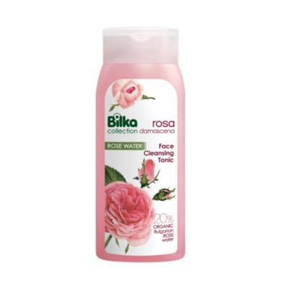 Тоник за почистване с розова вода
