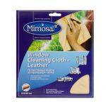 Почистваща кърпа за прозорци и кожа Мимоза