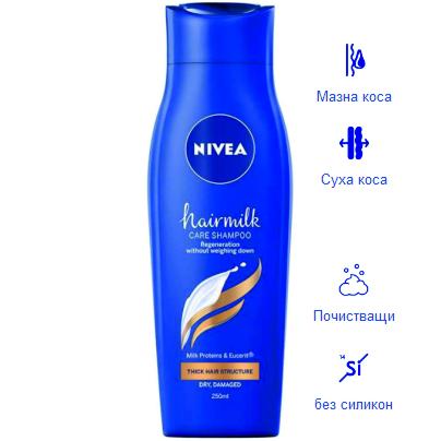 NIVEA Hairmilk подхранващ