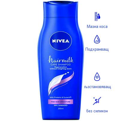 Hairmilk подхранващ за тънка коса