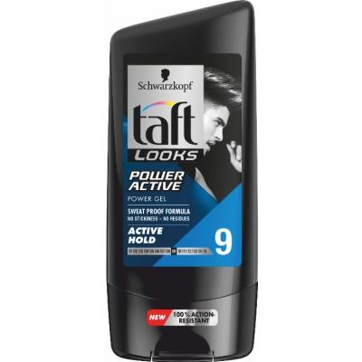 Гел Taft look power active 9 150мл