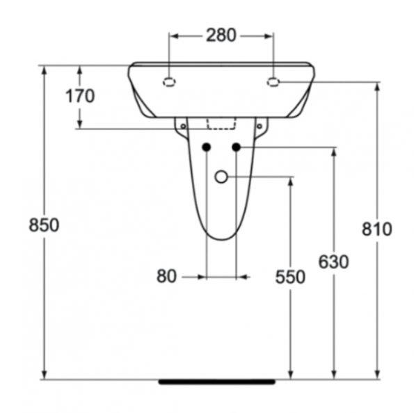 Мивка 50 cm W409401 3