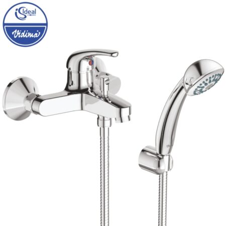 Смесител стенен за вана-душ с аксесоари B3176AA