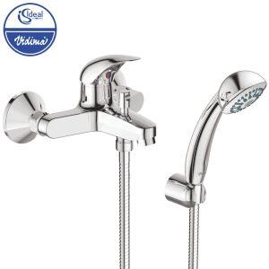 Смесител стенен за вана-душ с аксесоари B4227AA