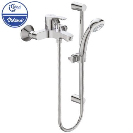Смесител стенен за вана-душ с аксесоари BC389AA