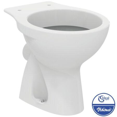 Стояща тоалетна чиния долно отичане E406301