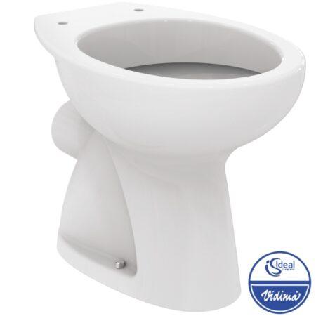 Стояща тоалетна чиния с хоризонтално оттичане W719901