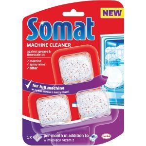 Таблетки за почиистване на съдомиялна Somat 3 be