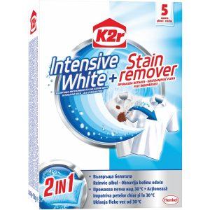 Цветоулавящи кърпички бели дрехи + Stain remover 5бр K2R