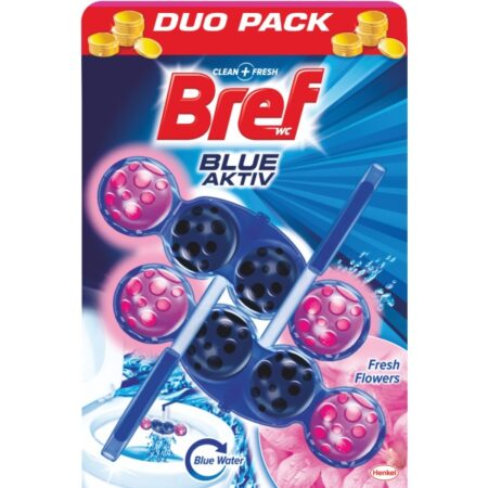 Bref blue active свежи цветя