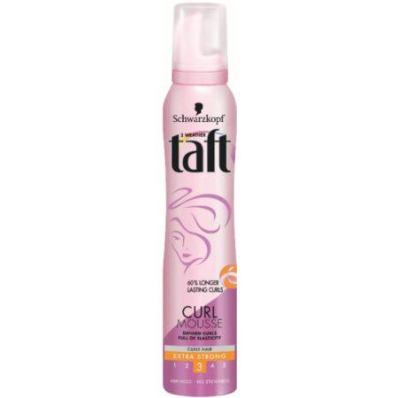 Taft пяна за коса curl mousse