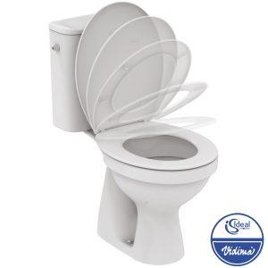 WC комплект вертикално оттичане, седалка с плавно затваряне W835901