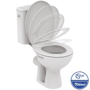 WC комплект хоризонтално оттичане, седалка с плавно затваряне W835701