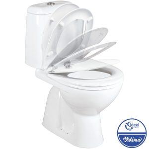 WC комплект Elegance, вертикално оттичане, седалка с плавно спускане W908201
