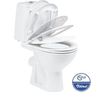 WC комплект Elegance, хоризонтално оттичане, седалка плавно спускане W908001