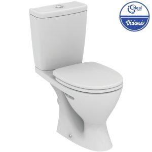 WC комплект Plus, хоризонтално оттичане W904301