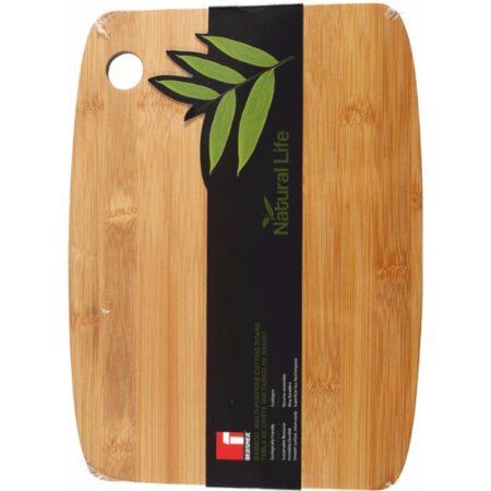 Правоъгълна бамбукова дъска за рязане BG-4245-MM 1