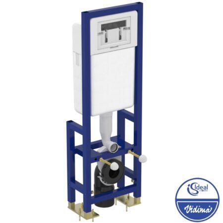 Структура за вграждане на конзолна тоалетна чиния W370767