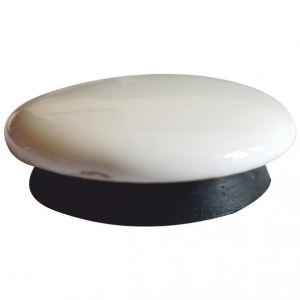 Тапа за керамична мивка бяла 1