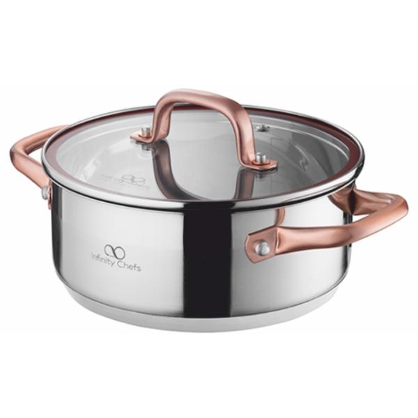 Тенджера Infinity Chefs 24 см, 4.5 л BGIC-3502
