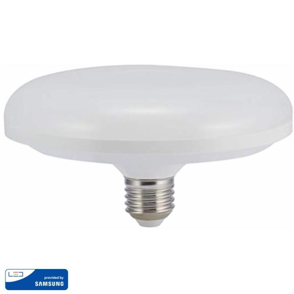 LED Крушка - SAMSUNG ЧИП 24W E27 UFO F150 3000K VT-216