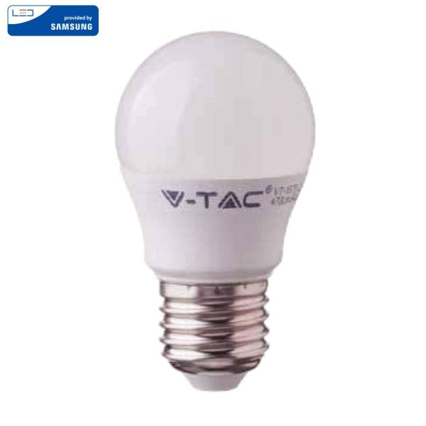 LED Крушка - SAMSUNG ЧИП 4.5W E27 A++ G45 3000K VT-245