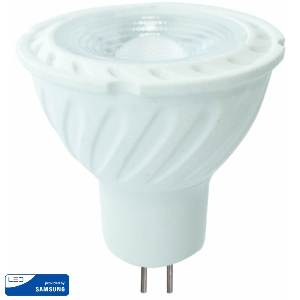 LED Крушка - SAMSUNG ЧИП 6.5W GU5.3 MR16 110° 4000K VT-257