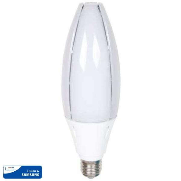 LED Крушка - SAMSUNG ЧИП 60W E40 6400K VT-260