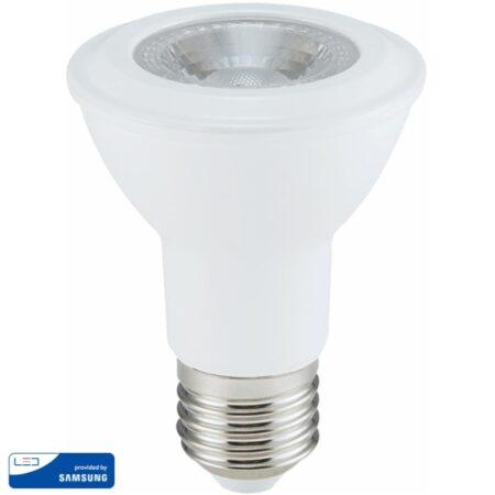 LED Крушка - SAMSUNG ЧИП 7W E27 PAR20 Неутрална Светлина VT-220