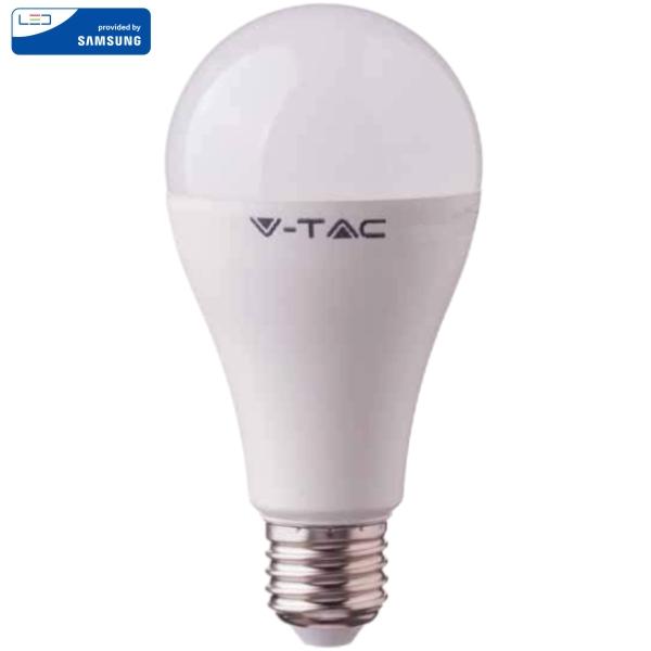 LED Крушка SAMSUNG Чип 17W A65 E27 Топло Бяла Светлина VT-217