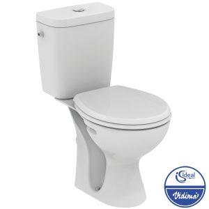 WC комплект, хоризонтално оттичане E405501