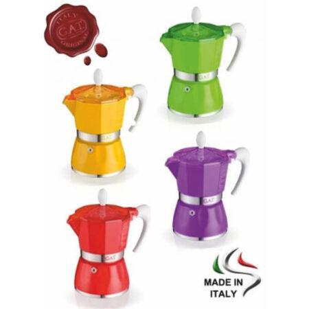 Алуминиева кафеварка серия BELLA за 6 кафета, код К937
