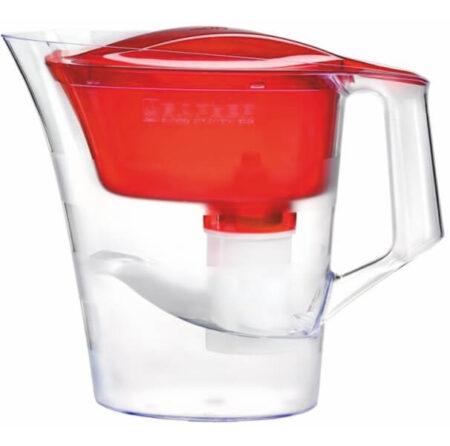 Кана за вода TWIST – червена