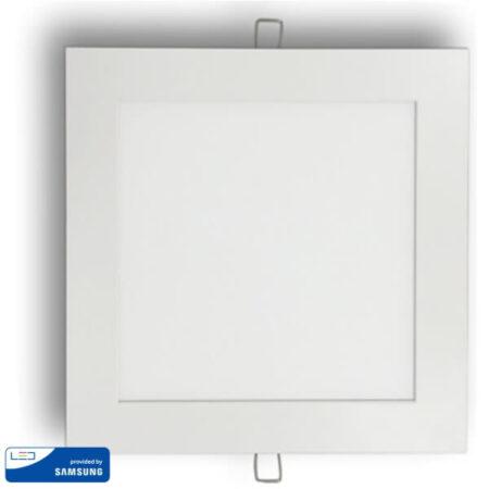 18W LED Панел Premium SAMSUNG Чип Квадрат VT-618