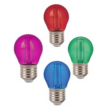 LED Крушка – 2W Filament E27 G45 VT-2132
