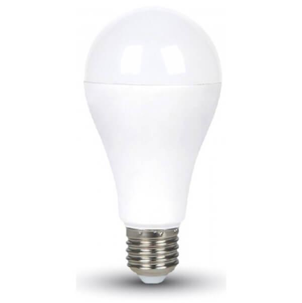 LED Крушка - 17W A65 Е27 Термо Пластик VT-2017