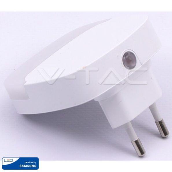 LED Нощна Лампа за Контакт Квадрат 65x65x53.4mm VT-82 1
