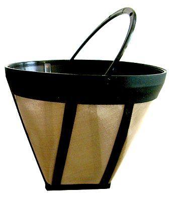 Постоянен филтър No 4 с метална мрежа за кафе