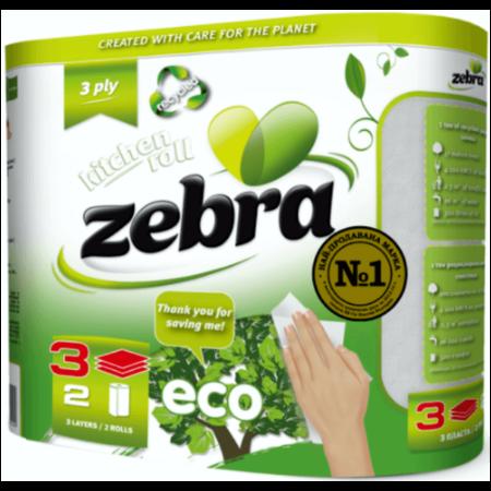 Кухненска ролки Зебра еко 2бр