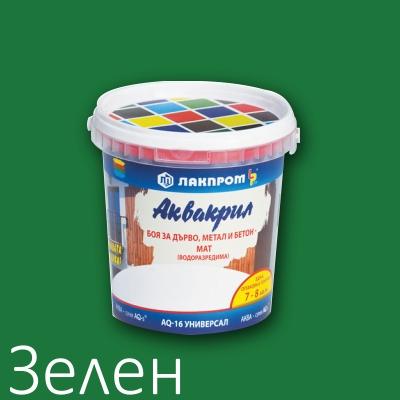 Аквакрил Лакпром зелен
