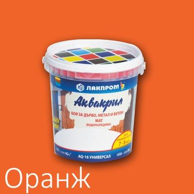 Аквакрил Лакпром оранж