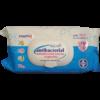 Антибактериални кърпички 72бр Агива сини