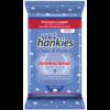 Антибактериални кърпички wet hankies сини