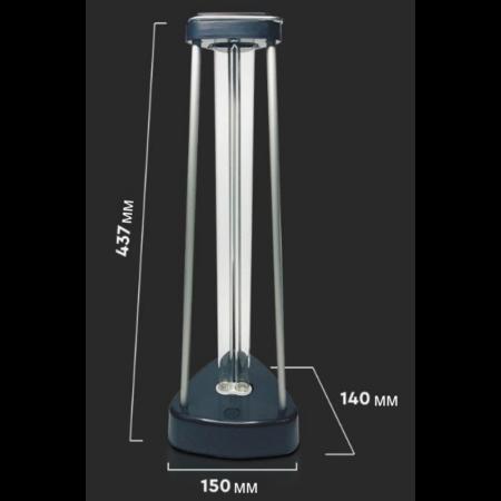 Бактерицидна Антивирусна Лампа с Озон за 60м2 2