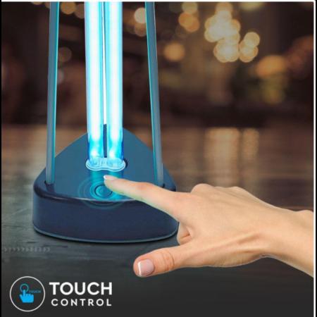 Бактерицидна Антивирусна Лампа с Озон за 60м2 3